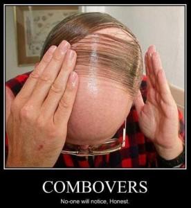 man combover